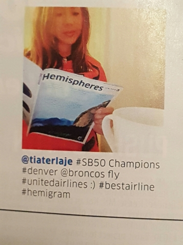United Airlines Hemispheres Magazine, Nov. 2016